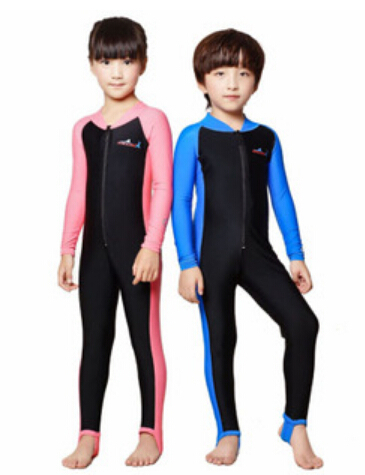 a341ba48c1a Get Quotations · Free Shipping swimming dress Kids boys girls snorkeling  clothing children s sun protection clothing child diving suit