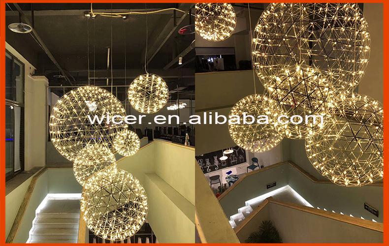 Moderne Lampen 13 : China fabrik d200 200mm moderne kronleuchter replik raimond led