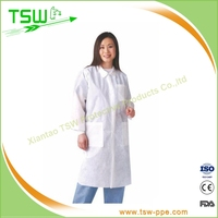 PP+PE Medical Lab Coat completely imperious fluid and alcohol repellent
