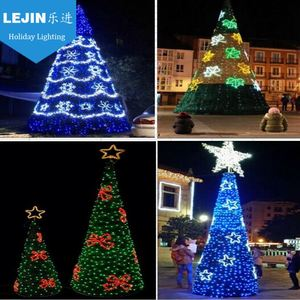 New arrival outdoor motif decor christmas tree shaped light