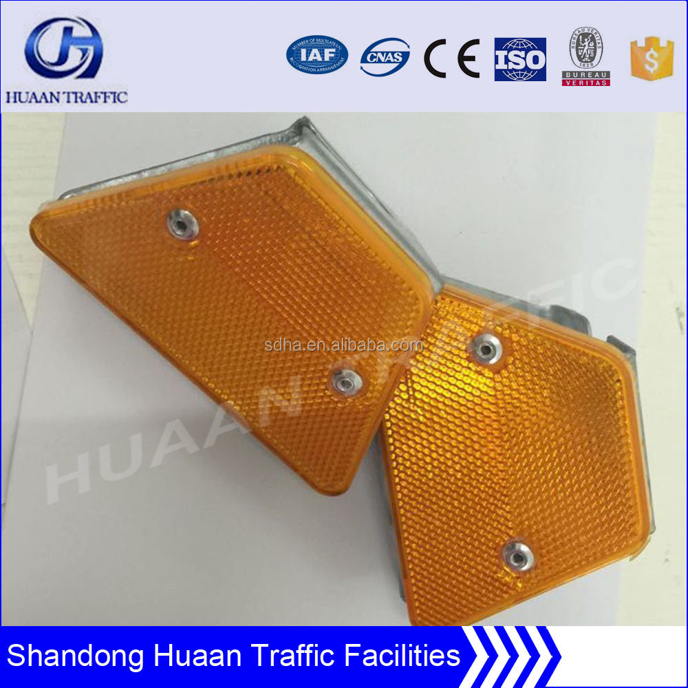 roadway used reflective material