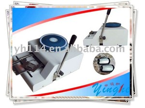 Dog tag Embossing Machine(convex) for plastic card ,pvc card ,metal etc...