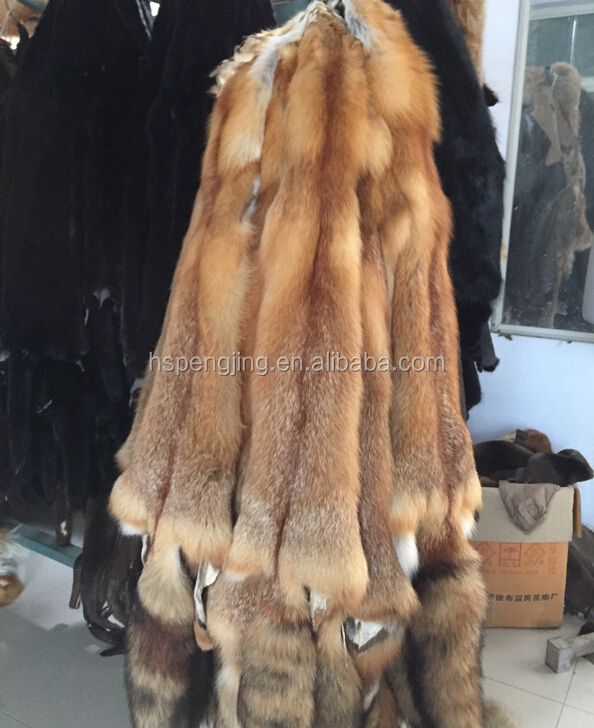 Genuine fox fur/ natural Blue fox fur skin//real animal pelts blue fox-8