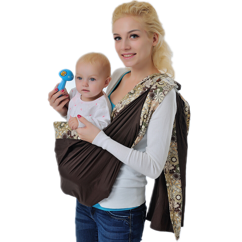 Buy Adjustable Ring Sling Baby Infant Cotton Carrier Toddler Wrap
