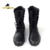 Army Military combat Jungle Black tactical boots training boots leather lightweight breathable army genuine leather boot
