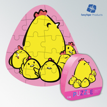Cute Environmental Protection Toy Paper Puzzle