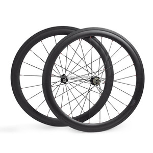 700c chinese carbon cyclo cross tubular wheel 50mm 3k/12k/ud available