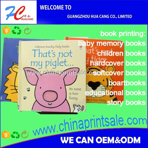 baby memory book with pictures of family/children book printing short run/book printing and publishing