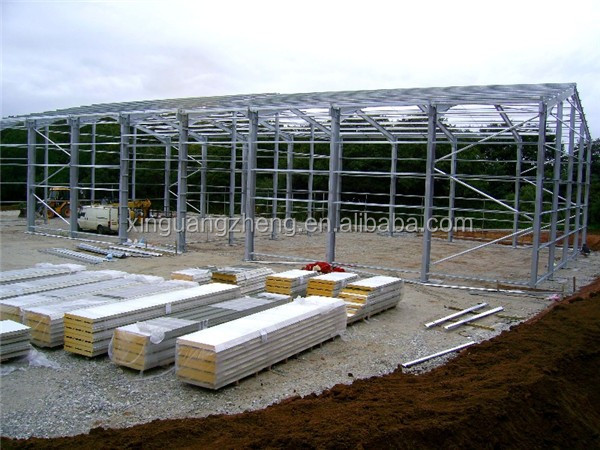 pre engineered framework warehouse in usa