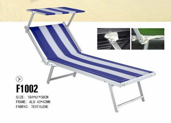 Folding Camping Lounge Chair / Pool Lounge