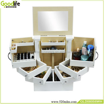 Goodlife Makeup Storage Drawers Cabinet Bedroom Furniture Set