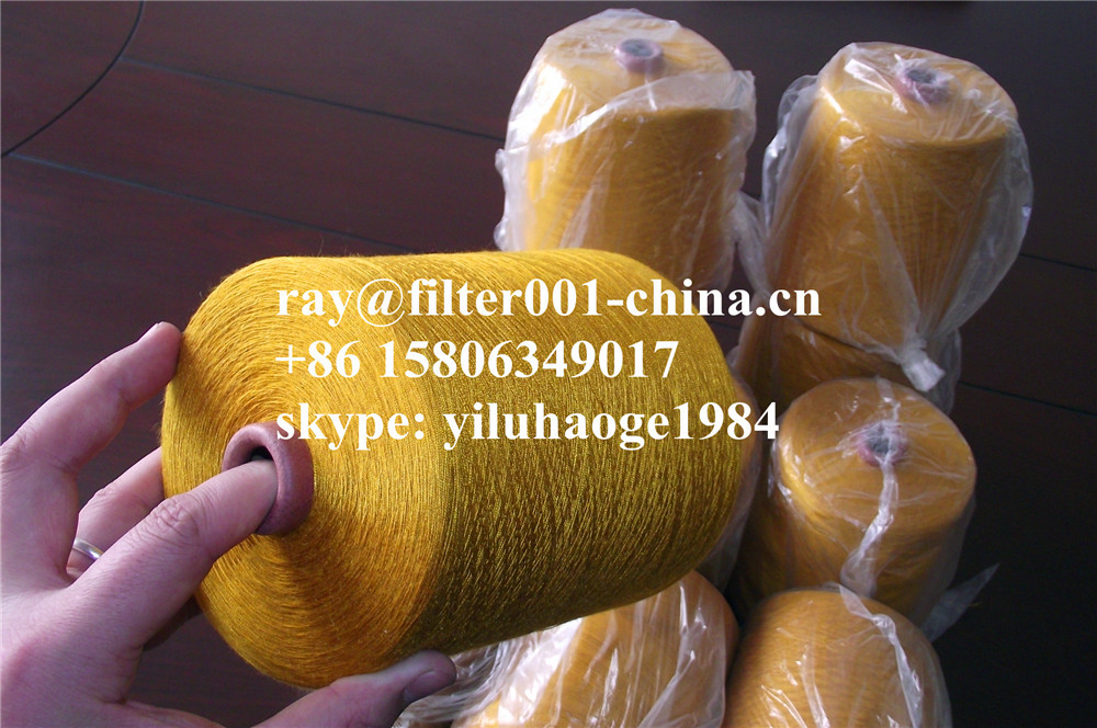 100% Polyimide Threads or 100% Polyimide Yarn 14s/2,23s/2,30s/3,40s/3