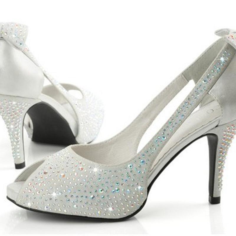 Get Quotations · 2015 High Quality Woman Formal Dress Shoes Lady Wedding  Bridal Shoes High Heel Peep Toe Shoes 4692a6cd04b6