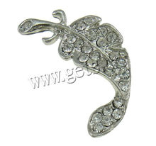 new latest feather zinc alloy cheap brooches