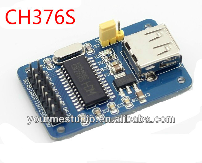 CH376S U disk reader module USB host interface module 51 U disk read and write module