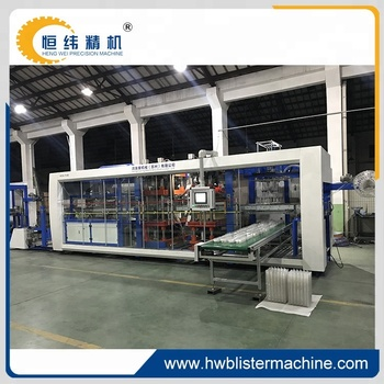 full automatic twenty cavity PP plastic cup lid thermoforming making machine