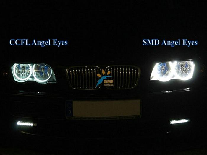 E46 With Project Led Angel Eyes Ring Smd 3014 126 Pcs Leds Smd Led ...