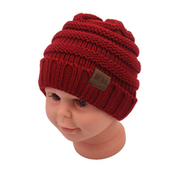 High Quality Wholesale Cheap Custom Baby Knitted Hat/Winter Hat/Knitted Beanies Baby Hat
