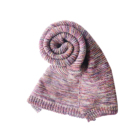 Hot sale colorful 100% acrylic fashion ladies scarf,knitting scarf