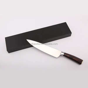 popular chef knife with pakka wood handle