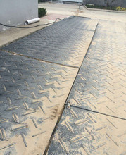 Impact Resistant HDPE Road/ground mats