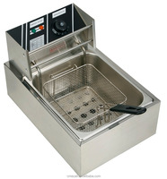 Hot Sale Stainless Steel Commercial Chicken Electric Counter Top Deep Fryer