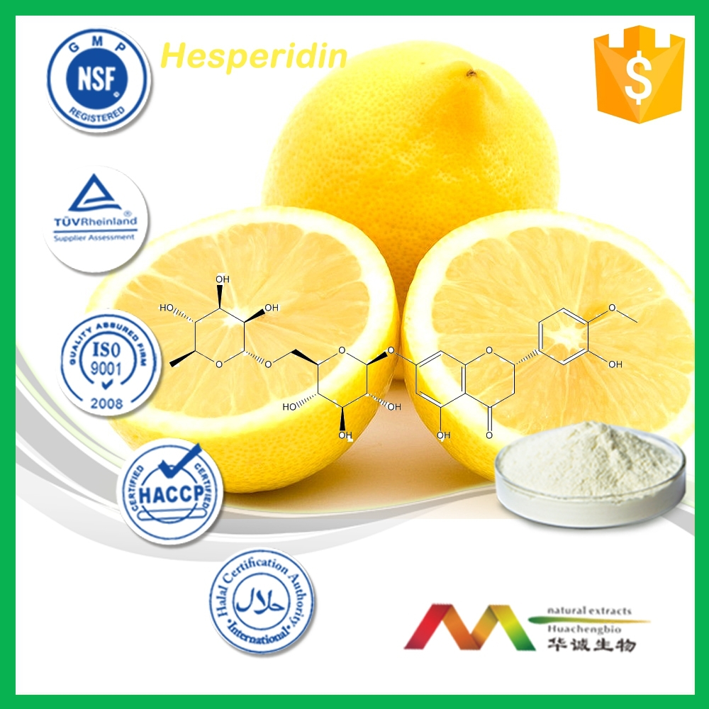 100% natural hesperidin methyl chalcone from Citrus Aurantium Extract