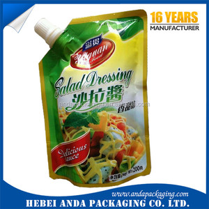 custom stand up pouch for seasoning packaging/chicken seasoning film plastic rolls