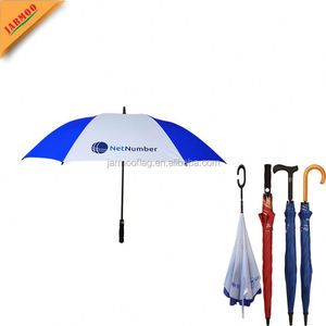 Promotional Adults Custom Printed Windproof Golf Gift Umbrella