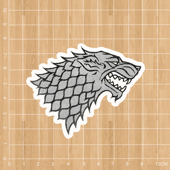 American TV Game of Thrones Winter is Coming Notebook refrigerator skateboard trolley case backpack Tables sticker