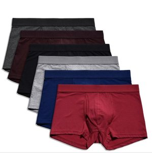wholesale workout clothing new released 95% cotton and 5% spandex european mens underwear