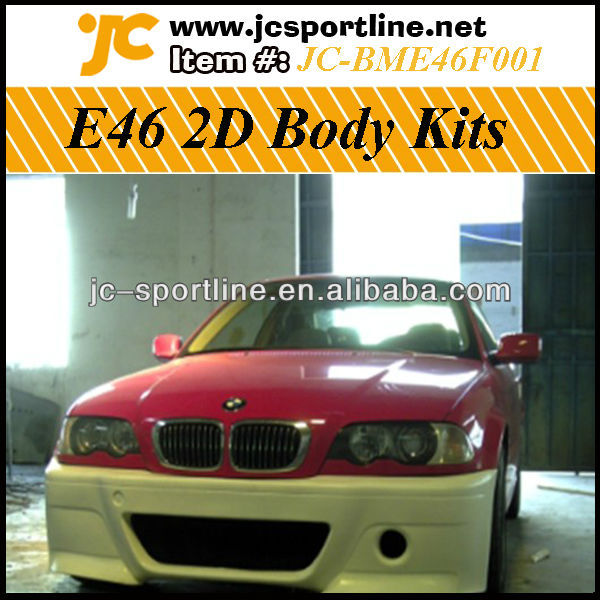 E46 2D Styling Tunning Auto Kits, BodyKit For BMW