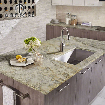 Hot Sale Unique Natural Stone Aspen White Granite Countertop Slab