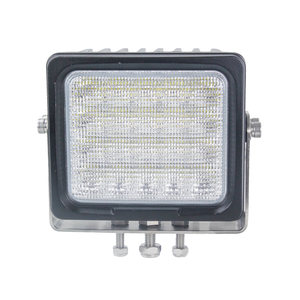 5.9inch high lumen 8500 lumen 100W square led work light c-rees chip 5w*20pieces
