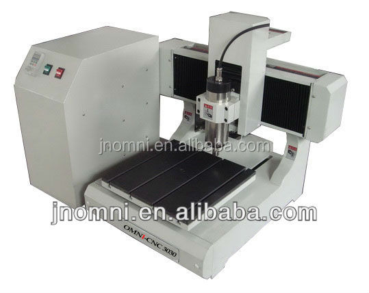 Mini Desktop cnc router omni 3030 /wood engraving machine