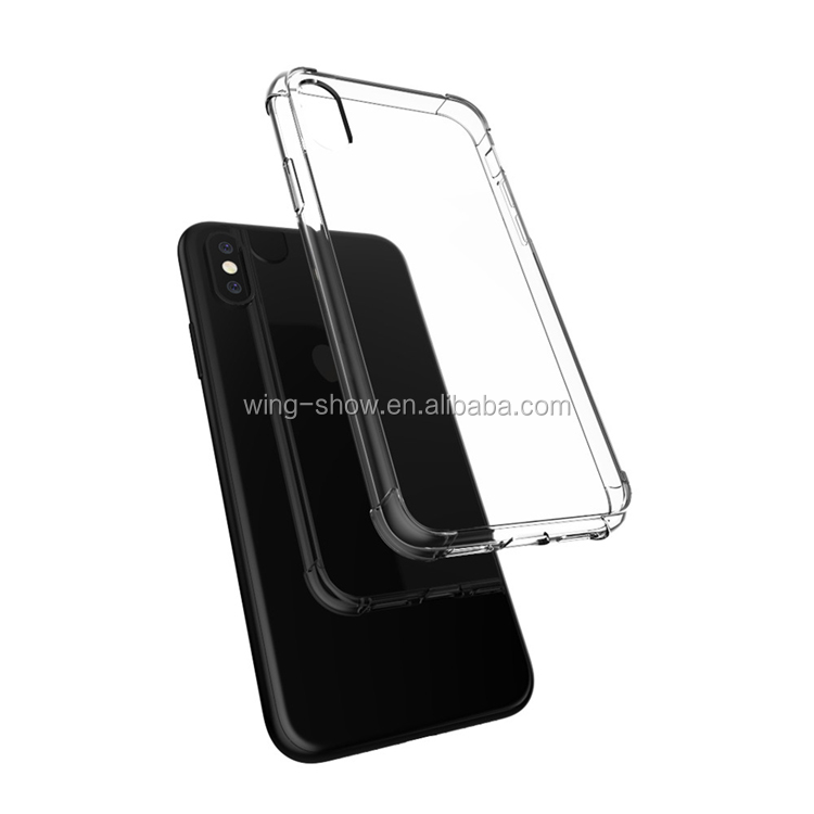 Mobile phone accessories,TPU+PC Phone Case for Iphone 8 online soft plastic phone cover on alibaba