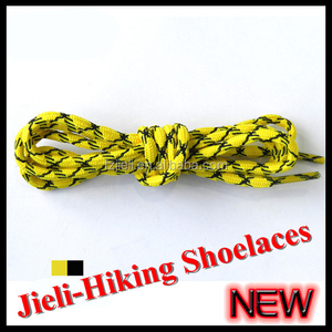 Jieli 2015 shoe decorations walking shoelaces for asics running shoes