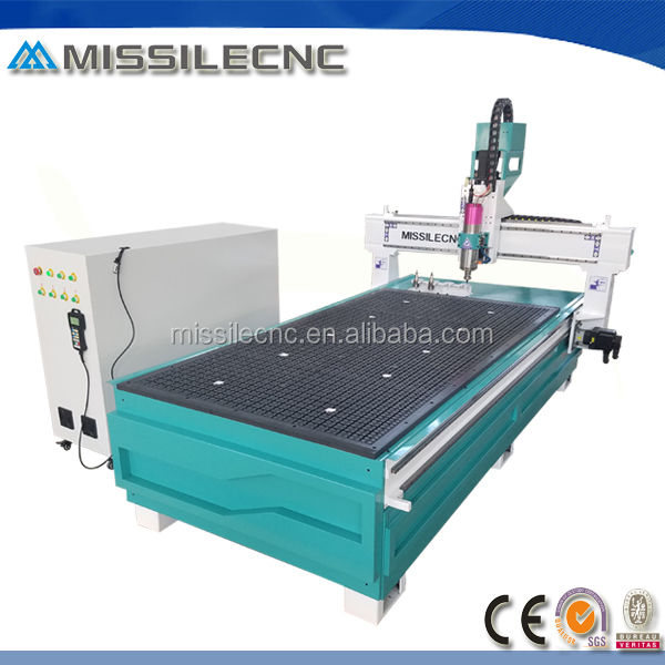 China DSP control 3 axis 3D linear ATC woodworking cnc router machine
