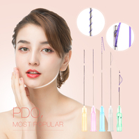 2017 hot 30g-4mm!(hypodermic mesotherapy needle) non-surgical absorbable pdo thread lift korea