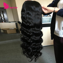 100% remy human hair full cuticle aligned Pre - Plucked body wave วิกผมลูกไม้ด้านหน้า
