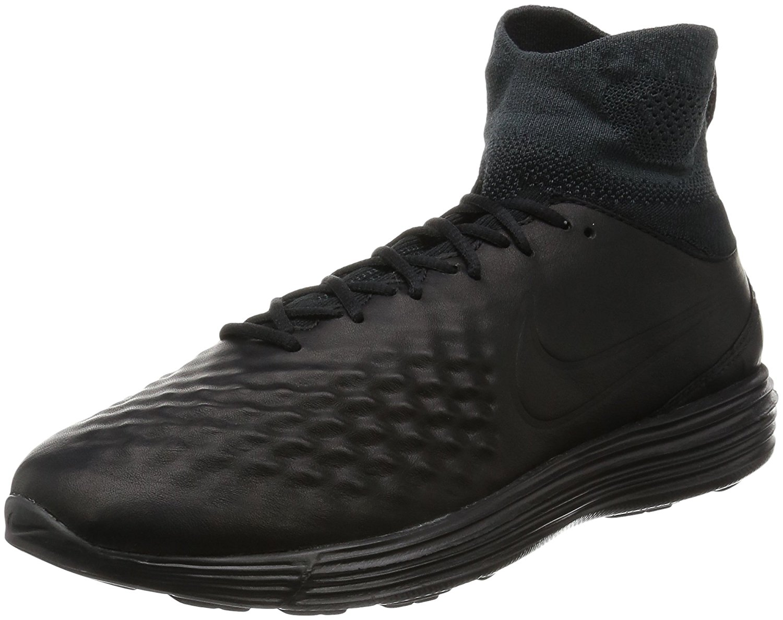 d4e9a451ae4 Get Quotations · NIKE Lunar Magista II Flyknit Sneaker Black 852614 001