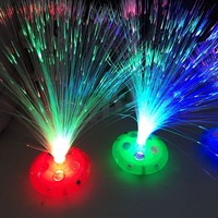 Alibaba Hot Sell LED Christmas Mini fiber Flower Operated Lights