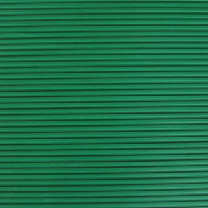 3 mm thicknesss Green Fine Ribbed Natrual Rubber Sheets In Roll