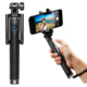 Wholesale Extendable Camera Tripod Handheld colorful wireless Monopod bluetooth Selfie Stick with bluetooth shutter button