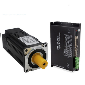 Low cost 60v ac servo motor and driver 400w 3000rpm for sew machine MCAC806 60ASM400