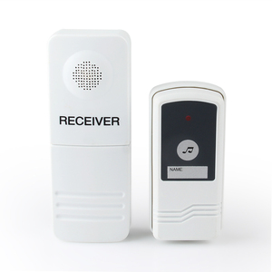 Decorative door accessory doorbell smart wireless door bell for restaurant