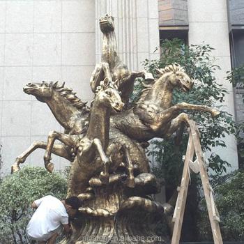 Grande Sculpture En Bronze Cheval Poisson Décoration Jardin Sculpture - Buy  Grande Sculpture De Cheval En Bronze,Sculpture De Jardin,Grande Sculpture  ...