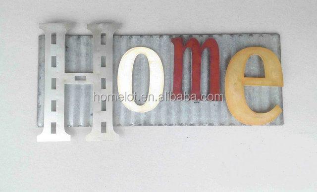 Metaal ijzer keuken muur opknoping decoratieve keuken muur