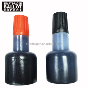 30ml Election Ink, Voter Marking Ink, Refill Ink Bottle with Logo Endorsing Ink