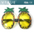 Tropical Pineapple Decor Sunglasses Accessory for Luau Summer Party
